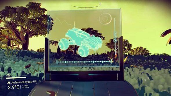 No Man's Sky land vehicles