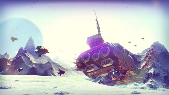 No Man's Sky crashed ship