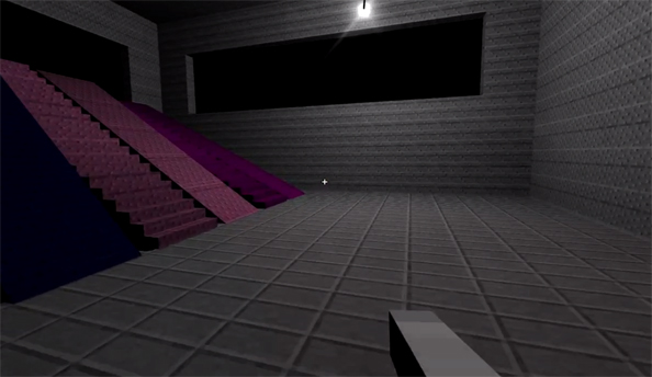 Notch's 0x10c footage shows off lighting, physics, and staircases of new Mojang game