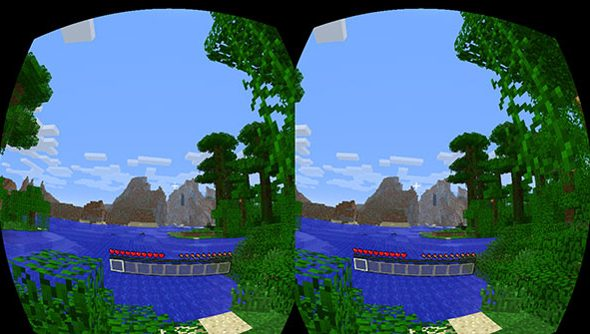 Minecraft in VR: currently a dream only supported by modders.