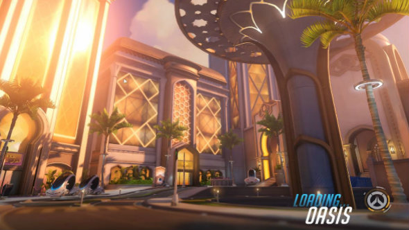 Overwatch's new Oasis map is live on the PTR
