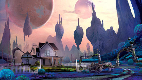 Obduction is the new first-person adventure game from the creators of Myst, out now