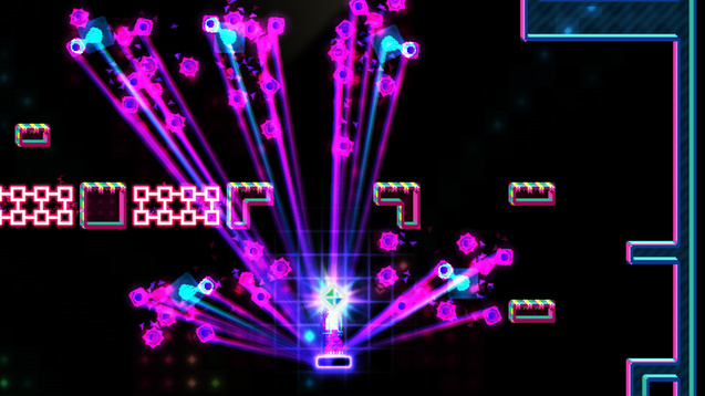 Octahedron is a musical platformer that channels the spirit of Rez