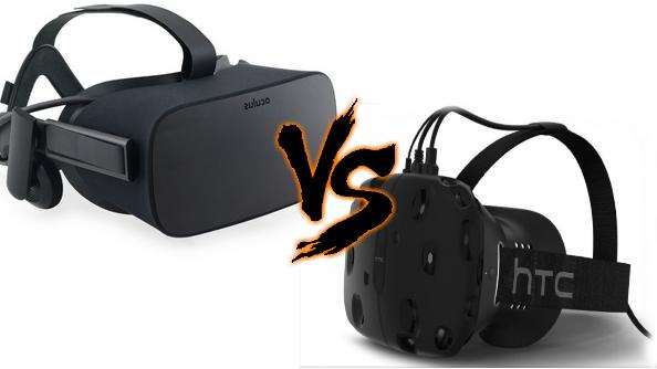 Oculus Rift vs HTC Vive