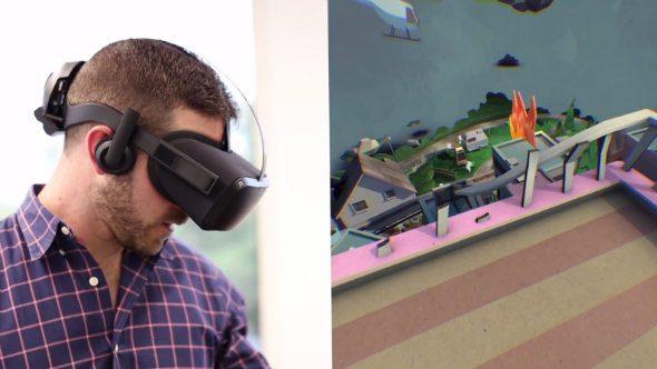 Oculus Santa Cruz prototype