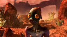 Oddworld protagonist Abe. On his Oddysee.