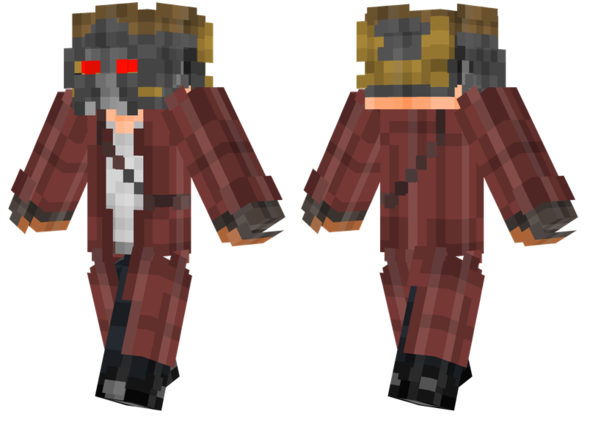 best minecraft skins star lord