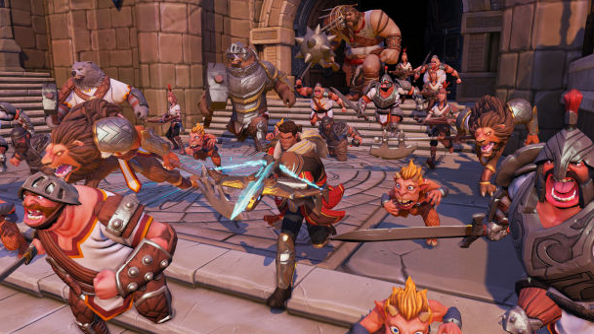 Orcs Must Die! Unchained ramps up the aggression, chucks in more players and will be F2P