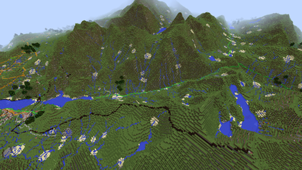 "Ordnance Survey upscale Minecraft map of Great Britain to be ""more realistic"""