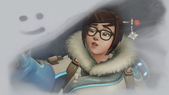 Mei overwatch smiley