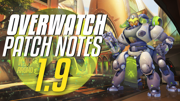 Overwatch patch 1.9 notes - new tank hero Orisa, Sombra buffs and Ana nerfs