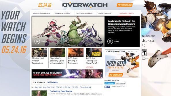Overwatch ads