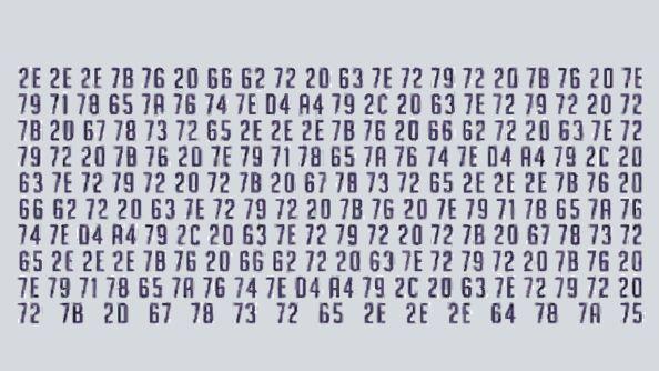 Hexadecimal codes in Overwatch's Ana Amari reveal trailer
