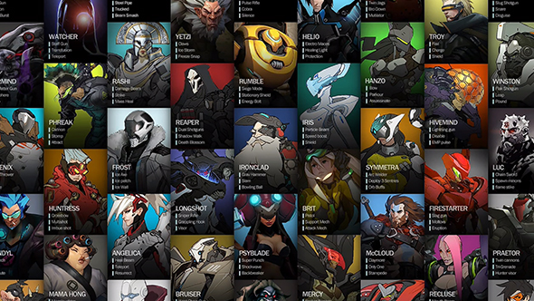overwatch early heroes
