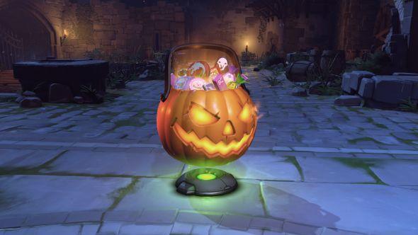 Overwatch Halloween loot boxes