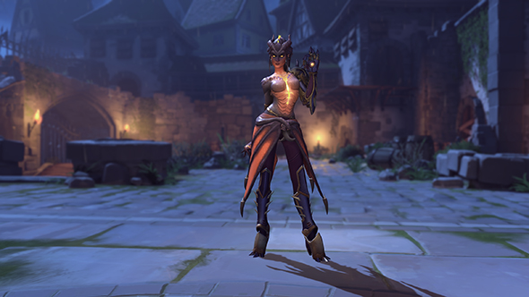 overwatch halloween 2017 symmetra dragon skin