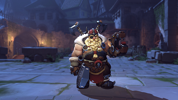 overwatch halloween 2017 torbjorn viking skin