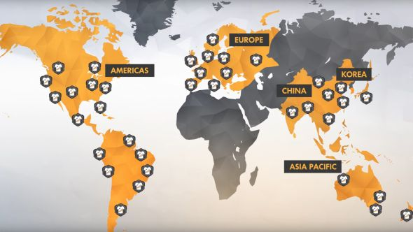 Overwatch League cities