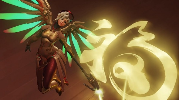 Blizzard BlizzCon 2014 Overwatch Mercy