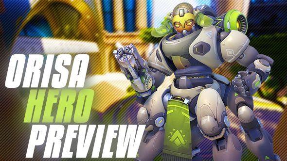 Overwatch Orisa release date