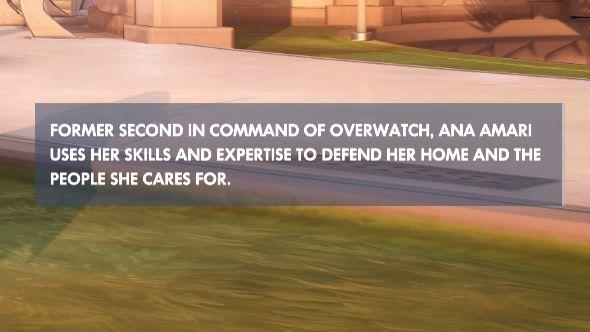 Overwatch patch 110 hero description