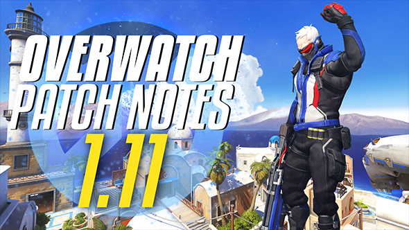 Overwatch patch 1.11 buffs and nerfs