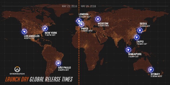 Overwatch release times map