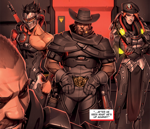 overwatch retribution comic blackwatch moira skin