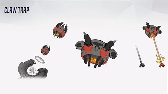 overwatch torbjorn claw trap