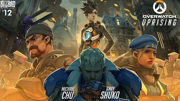 Overwatch Uprising comic