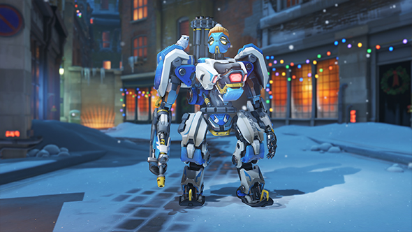 overwatch winter wonderland 2017 skins bastion avalanche
