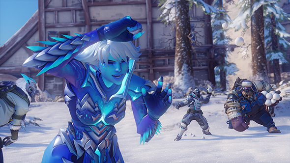 overwatch winter wonderland 2017 skins emotes cosmetics