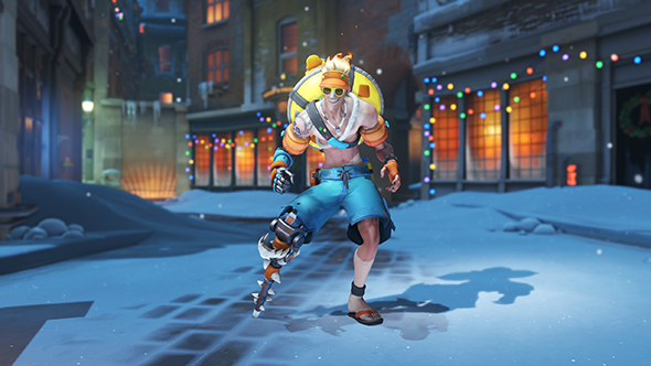 overwatch winter wonderland 2017 skins junkrat beachrat