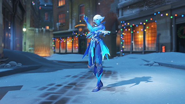 overwatch winter wonderland 2017 skins sombra rime