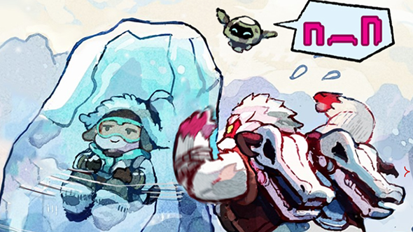 overwatch winter wonderland yeti hunt comic