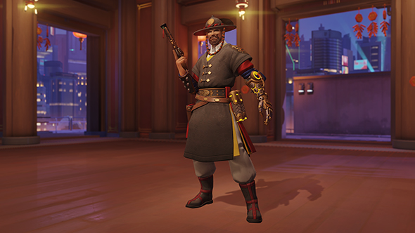 overwatch year of the dog legendary skins mccree magistrate