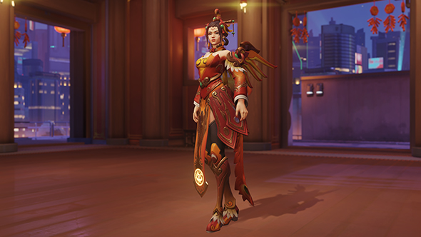 overwatch year of the dog legendary skins mercy zhuque
