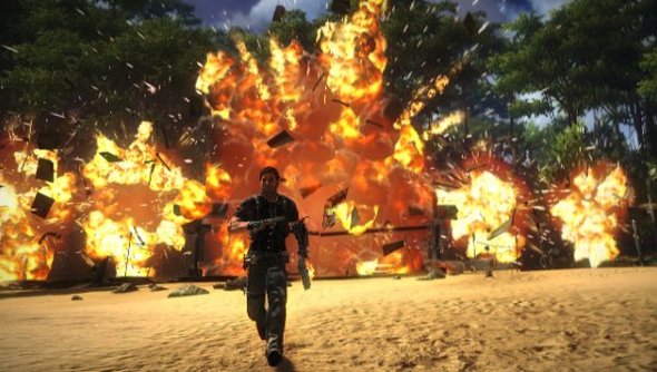 Just Cause 2 Explosions