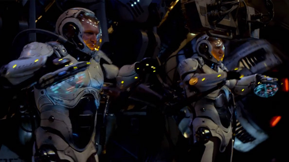 There's a GLaDOS cameo in Guillermo Del Toro's upcoming Pacific Rim, have a listen