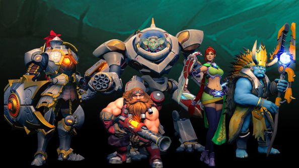 Smite developers Hi-Rez announce TF2ish objective-based FPS Paladins