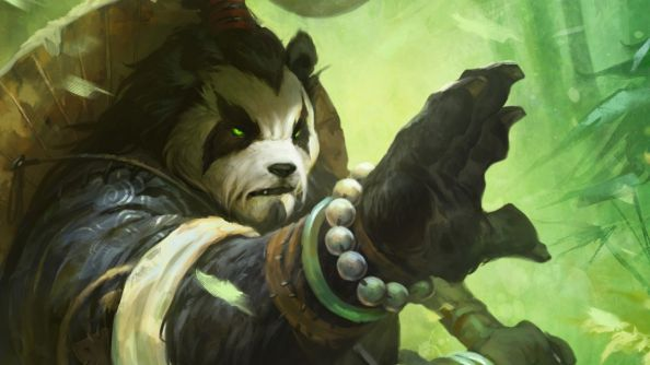 "Join World of Warcraft player ""Doubleagent"" as he dings level 100 as a neutral Pandaren"