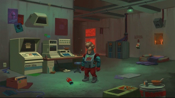 Paradigm: an adventure game that pits a mutant musician against an evil sloth