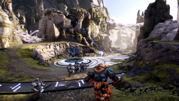New MOBA Paragon heads to Early Access in Spring, Epic talk lustrous virtual hair on Twitch