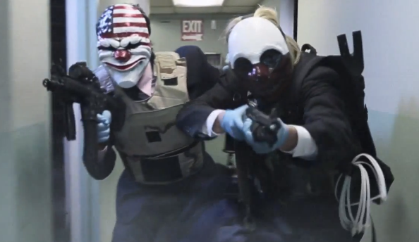 Payday 2 webseries episode 2 is online, the heist continues