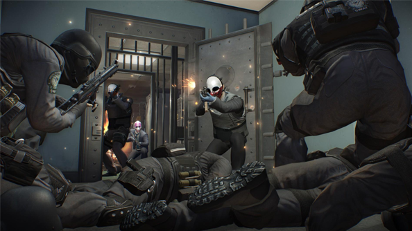 Payday 2 pays its way on Steam and then some
