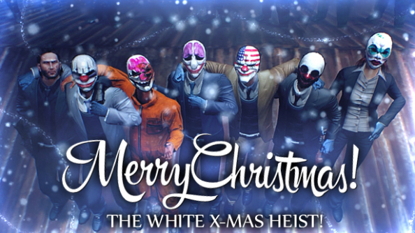 Payday 2 is holding a Christmas Heist. Join in for free guns and snowy rescues
