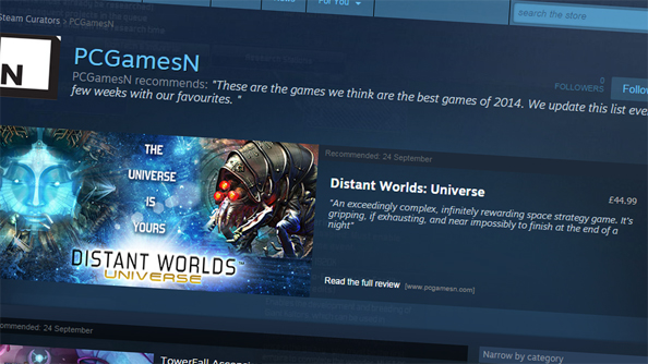 Steam Curators now have to tell us if they were paid to recommend a game