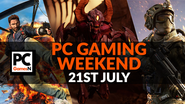 Your PC gaming weekend: win a graphics card, play Doom for free, watch the Overwatch World Cup, and more!