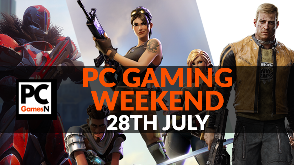 Your PC gaming weekend: grab a free Steam code, play Fortnite, get ready for Destiny 2, and more!