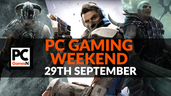 Your PC gaming weekend: win a new sci-fi roguelike, play free LawBreakers, Skyrim's new survival mode, and more!